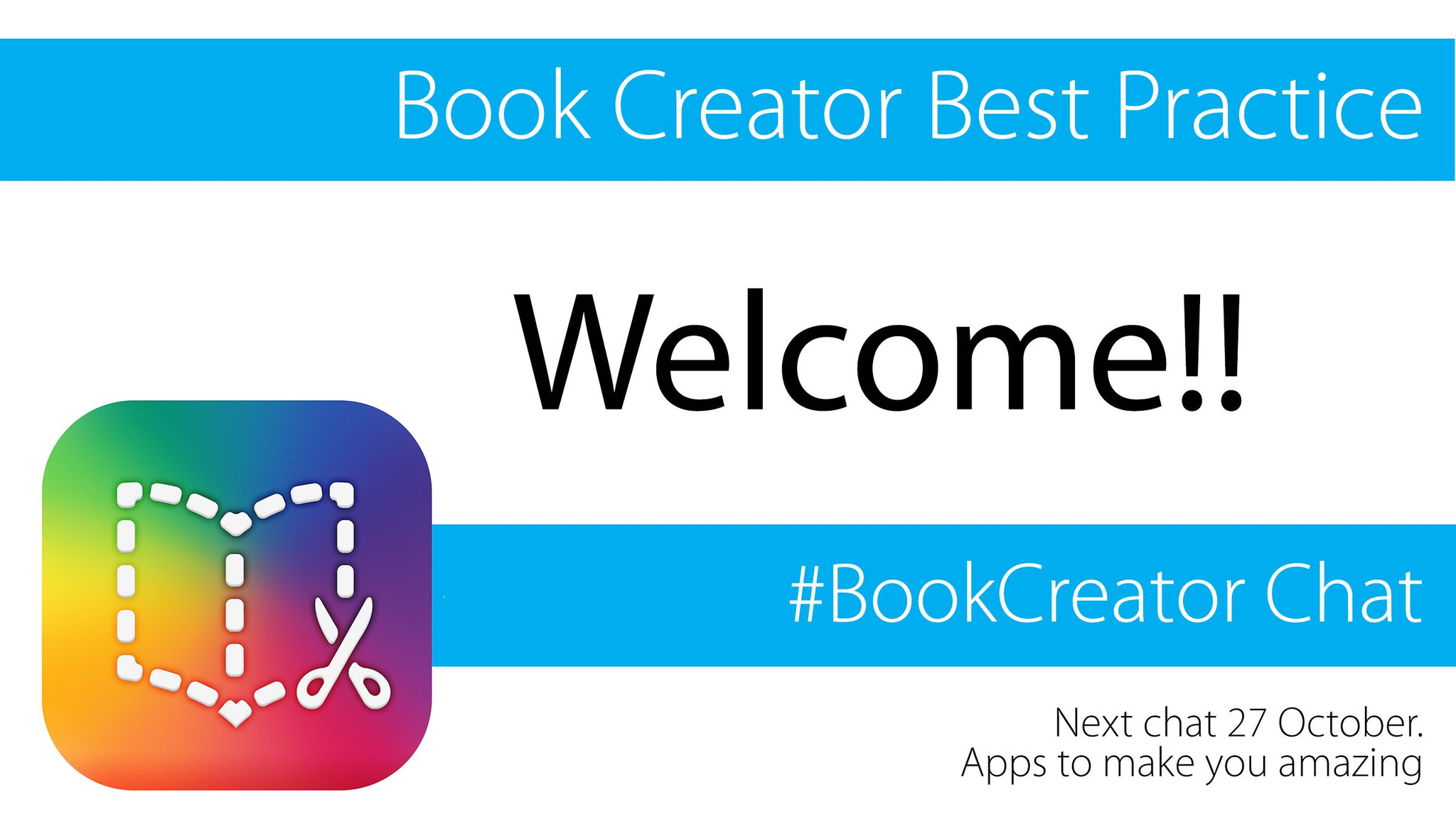 Thumbnail for #BookCreator chat: Best Practice (13 Oct 2016) - UK
