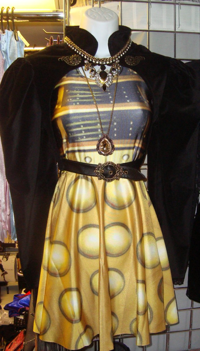 "nightshade corsets on twitter: ""exterminate! #dalek dress and"