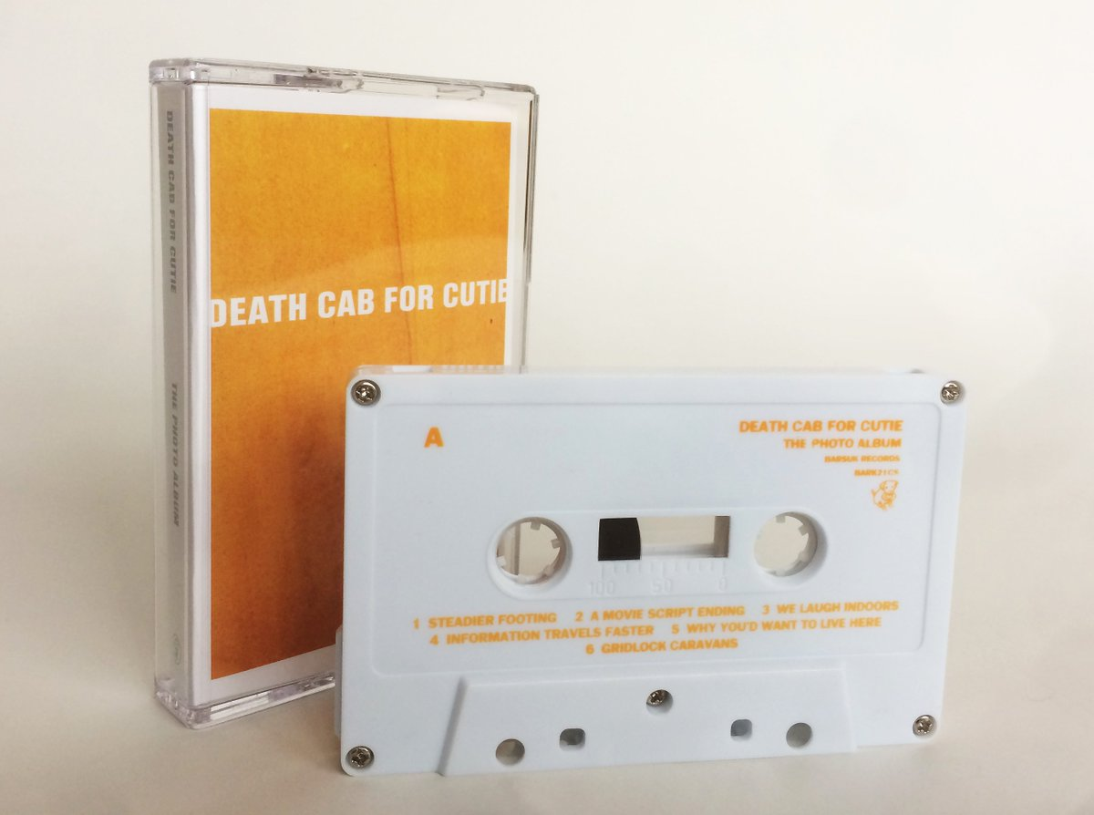 This week 15 years ago, DCFC released The Photo Album. Today, you can get the album on cassette online.