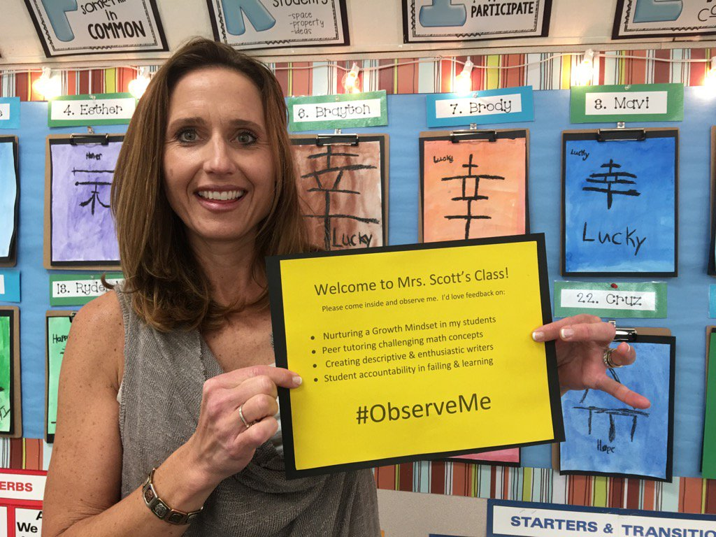Inviting constructive input~ Let's do this!  @MagPrincipal @suptchurchill @CarlsbadUnified @ourmagstory #ObserveMe https://t.co/5QEaZHAyHL