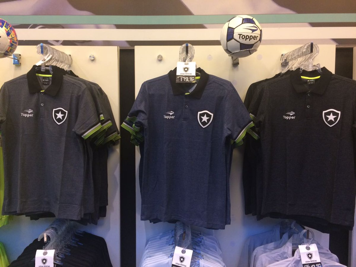 9b0b8452d86 Estão à venda na Loja Oficial de General Severiano as camisas pólo oficiais  Botafogo Topper.  QueroComprarTodas  SóCoisaLinda… https   t.co TKpC1ADuot
