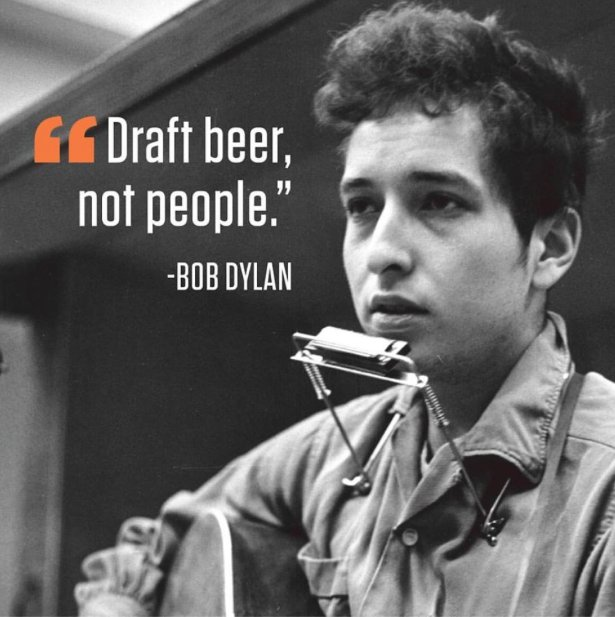 Congratulations to singer, songwriter, beer drinker ... 2016 Nobel prize winner for Literature, Bob Dylan https://t.co/8iQ6Jo6l3i