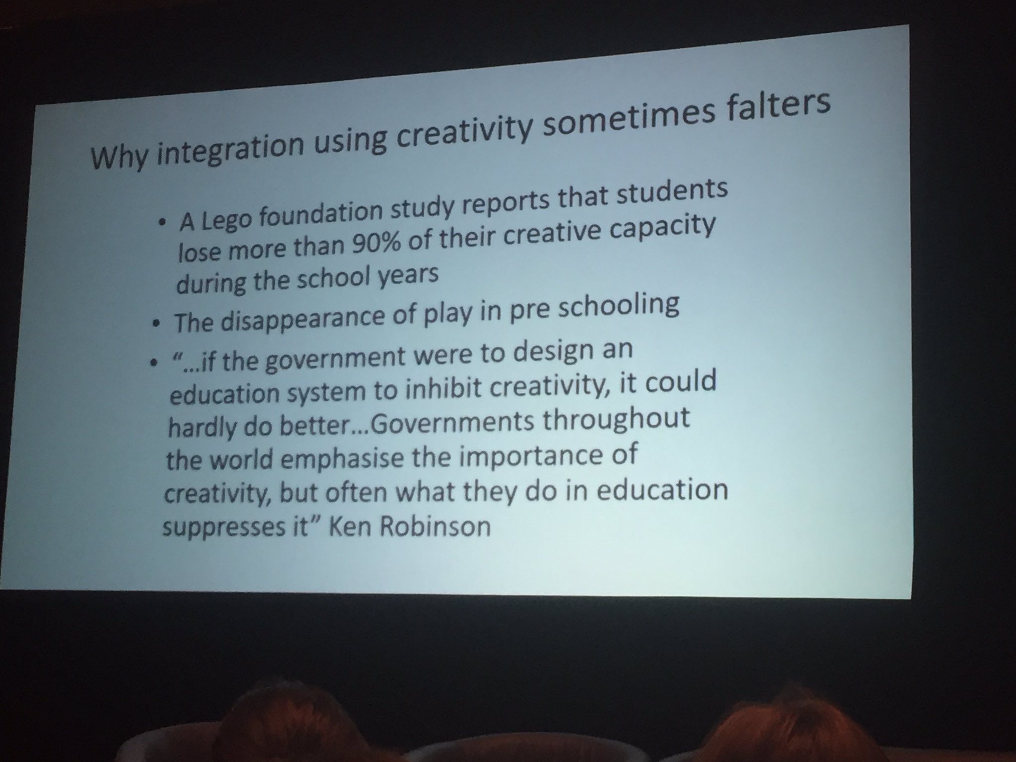 Why integration using creativity sometimes falters: slide from Michael Anderson  #acsasym https://t.co/Y5N7TSkLR5