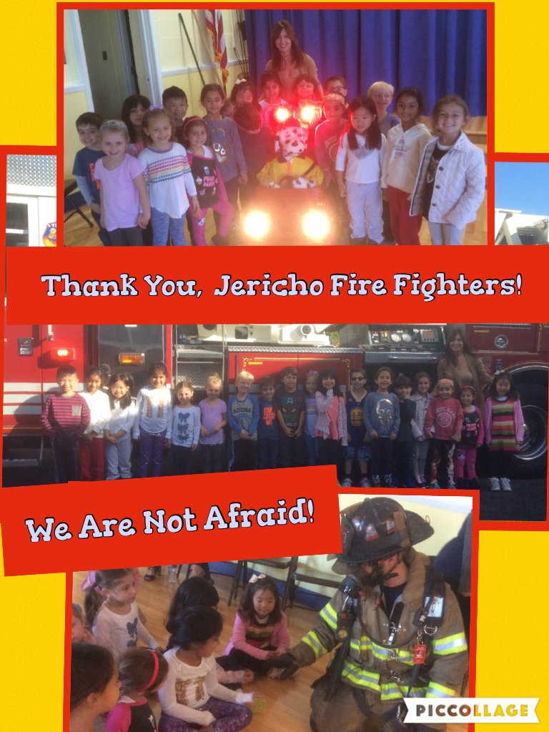 Thank You, Jericho Fire Fighters! @ivysherman @jerichoschools #seamanstrength https://t.co/C2hMc0SSAO https://t.co/ki5OoFkzcq