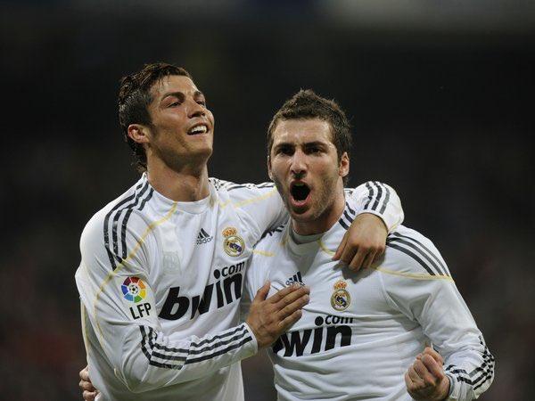 Ronaldo dan Higuain di Real Madrid