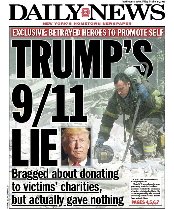 """New York Daily News On Twitter: """"Tomorrow's Front Page"""