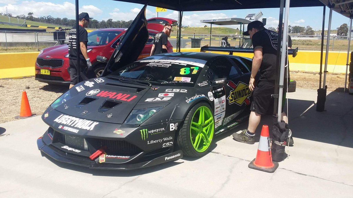 Libertywalkaustralia On Twitter Liberty Walk X Monster Lamborghini