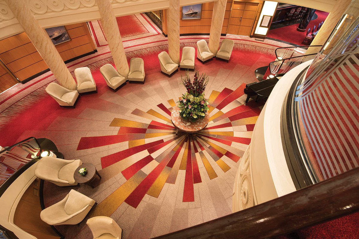 Ulster worked alongside SMC Design to create luxurious bespoke carpets for this prestigious vessel! @DesignInsider1 https://t.co/1XrWf0LVwX