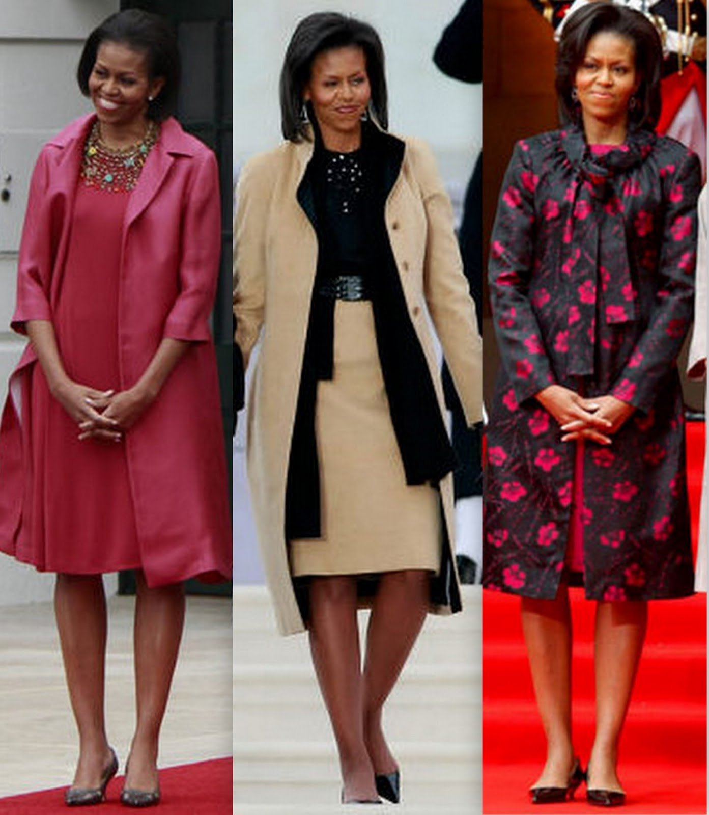 Who Got Fashion Melania Trump Vs Michelle Obama Michelle S Designer Vows Never To Work With