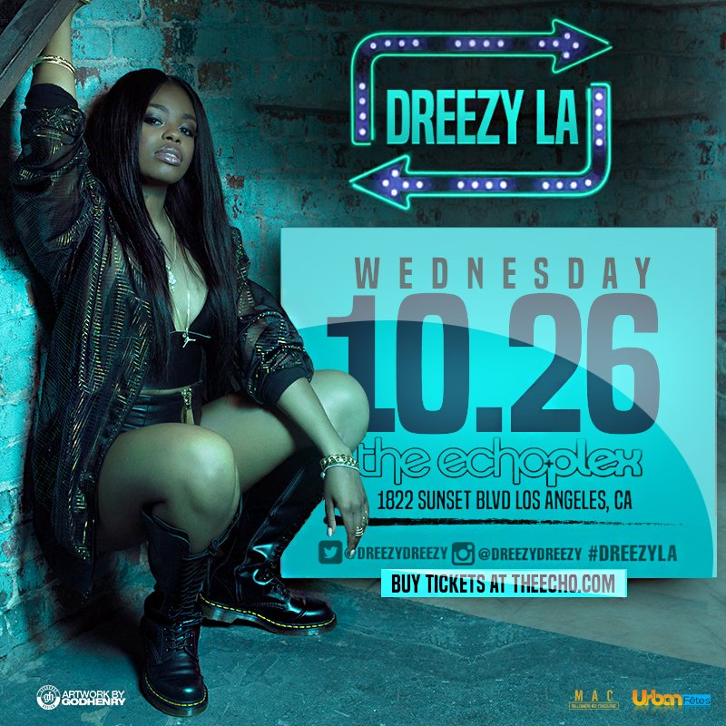 Chicago's #Dreezy #Headlines 1st Show in Los Angeles! Hurry and get Tickets here : https://t.co/EAEvmVPiLB https://t.co/iFvKNrpJMP