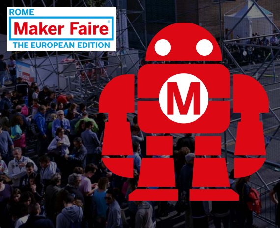 A @MakerFaireRome possiamo scoprire idee e progetti innovativi che cambieranno il futuro. #Day oggi è presente con @MARCBUISSON01 #MFR16 https://t.co/kwMJOgSKOK