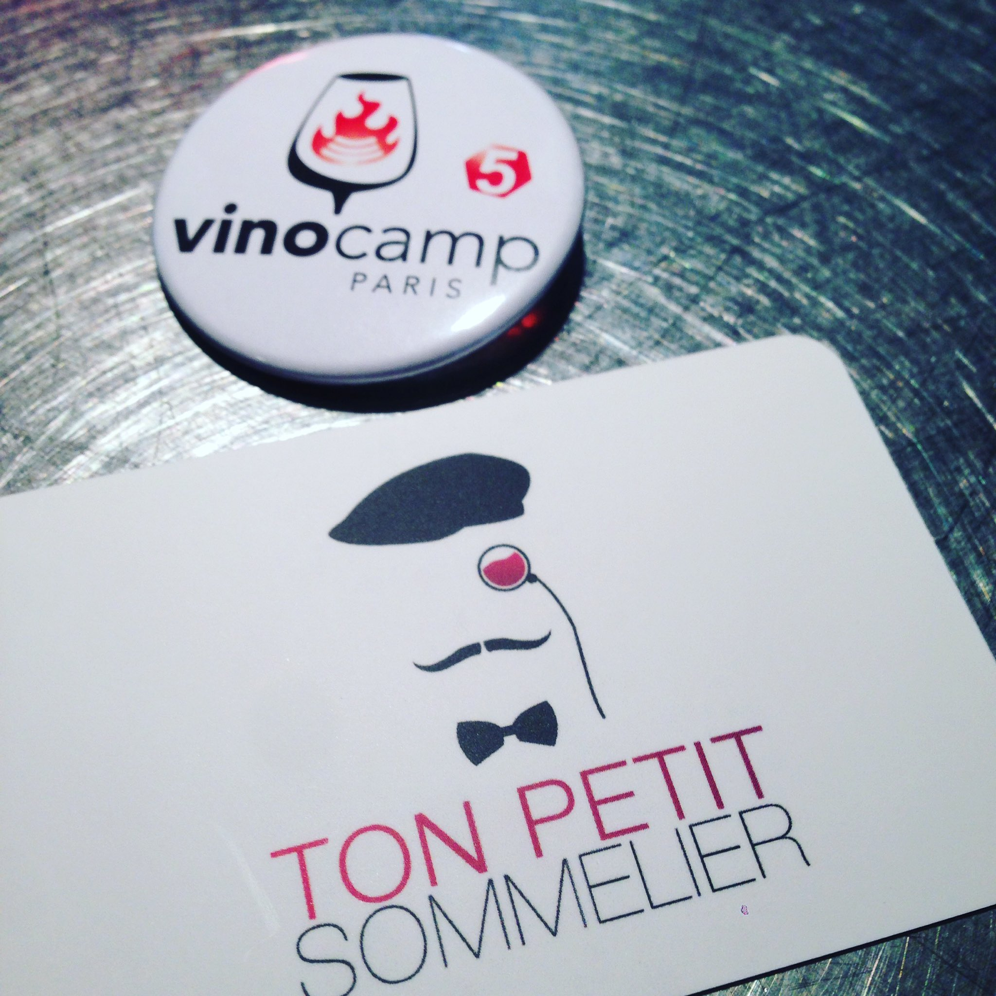 #Vinocamp Paris c'est parti ! 😀🍷 https://t.co/aTvJVup6TA