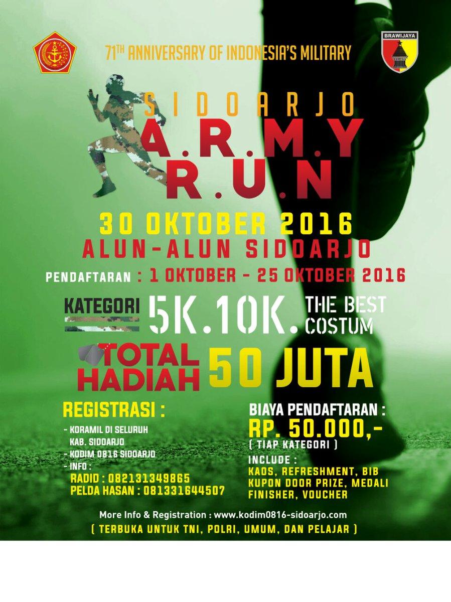 ARMY Run - Sidoarjo