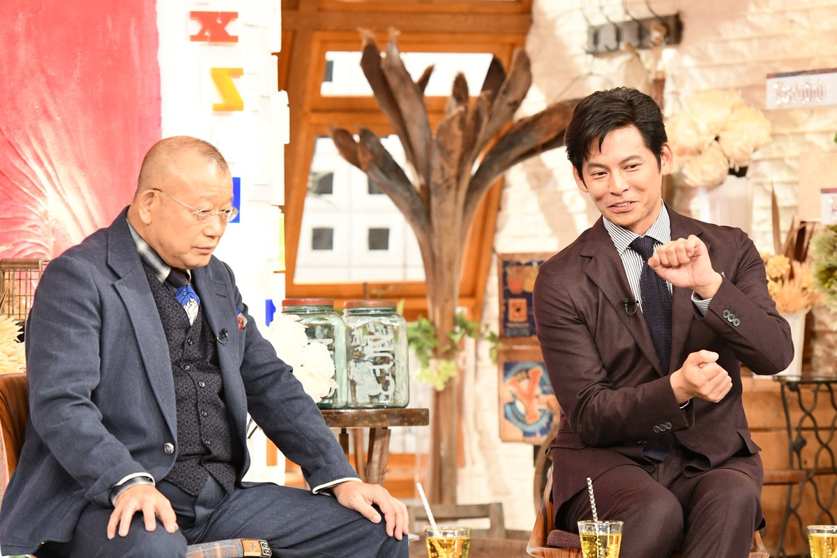 「A-Studio」に出演した時の織田裕二