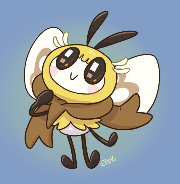 HEYY GUESS WHO MADE A QUICK RIBOMBEESONA #PokemonSunMoon https://t.co/Ufsr308T92