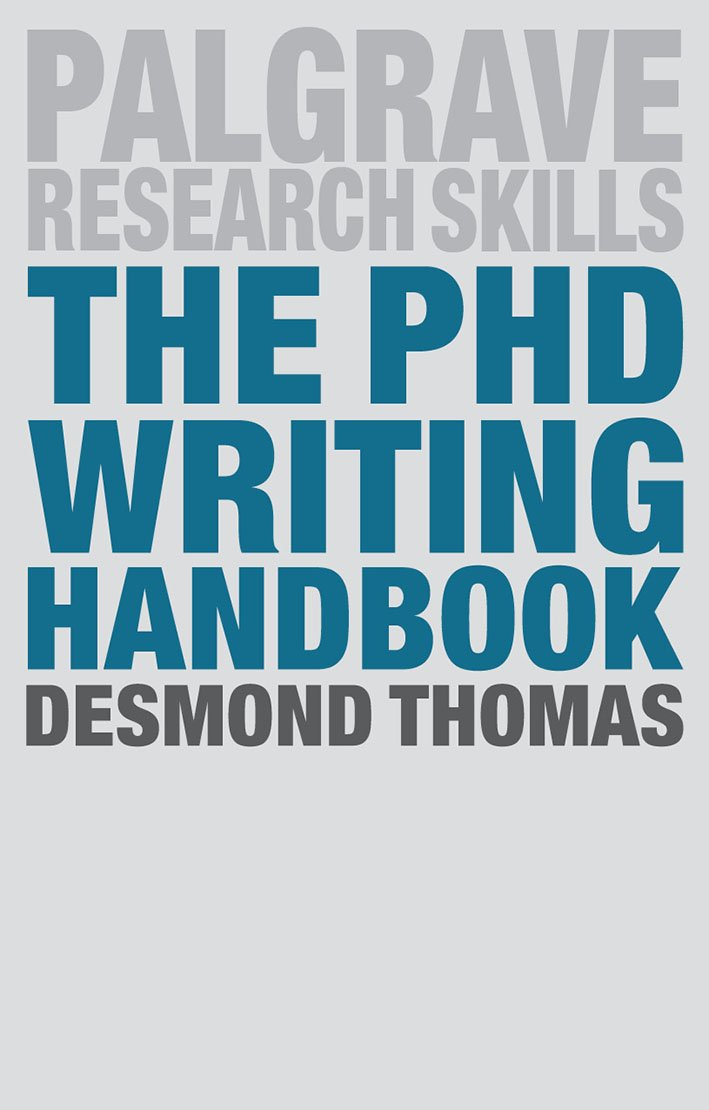 Image result for the phd writing handbook
