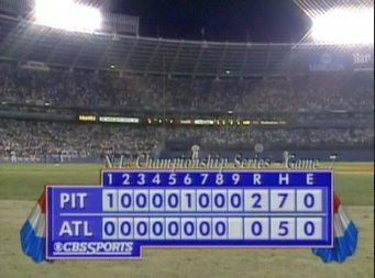 24 years ago today, the Pirates held a 2-0 lead headed to the bottom of the 9th in Game 7 of the NLCS. https://t.co/kgVbpNxiR4