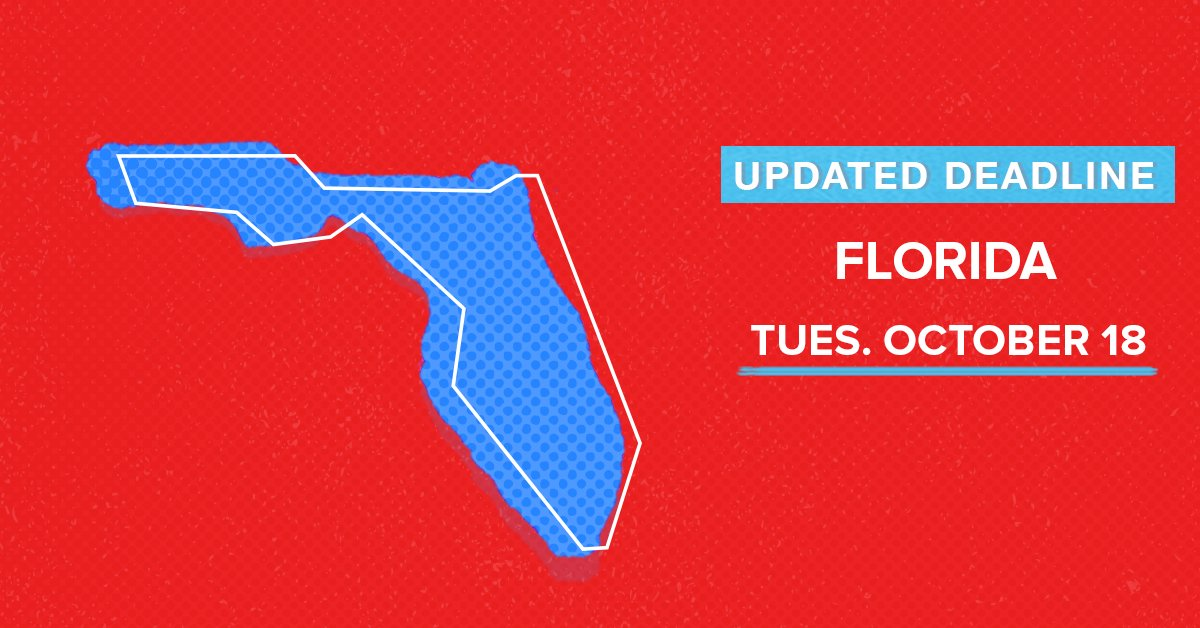 Thumbnail for Florida Voter Registration October 14, 2016