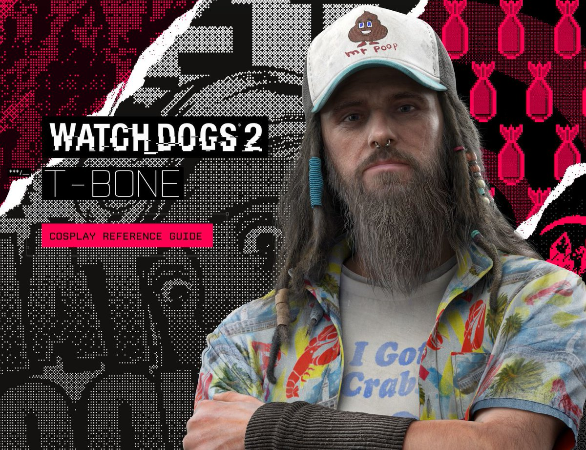 Watch Dogs Legion On Twitter Josh And T Bone Cosplay Guides Available Now Josh Cosplay Guide Https T Co 72hgdfplrl T Bone Cosplay Guide Https T Co 8eiixihy37 Https T Co 4g1bkmufyn