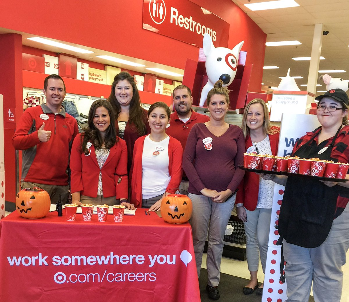 jenna domer jennadomer twitter come and join the best team ever the best people ever worksomewhereyoulove nationalhiringevent target1463pic twitter com guuzet2ewr at target