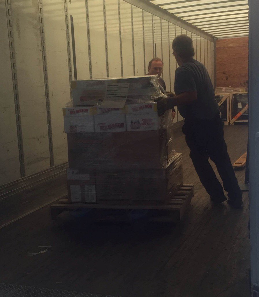HMS shipping 1,625 books to Louisiana to restock libraries impacted by recent floods. Many thanks for the donations! https://t.co/bbx2e44ol9