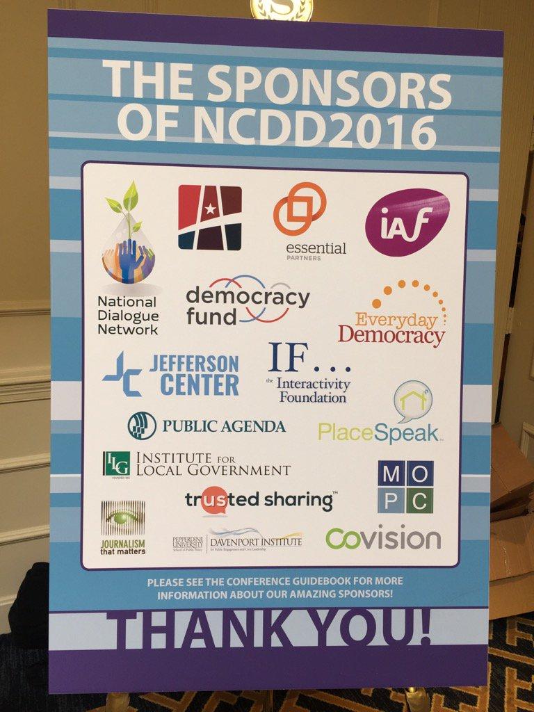 Kudos @ncdd sponsors! #NCDD2016 https://t.co/37mhu1lnUQ