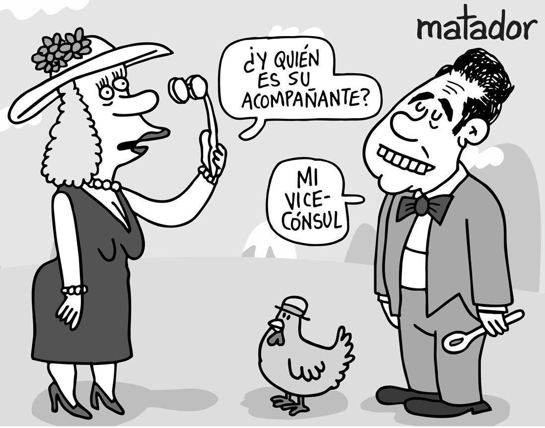 Ricostilla Y Doña Gallina Por Matador Vea Más Caricaturas Del