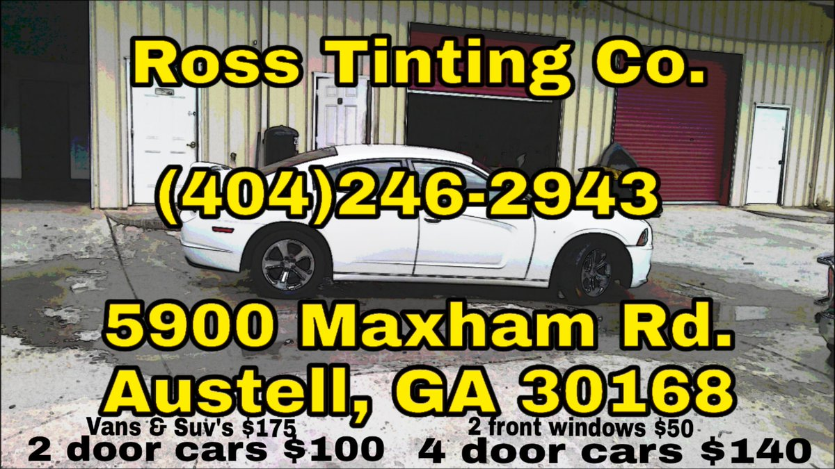 Ross tinting co austell ga