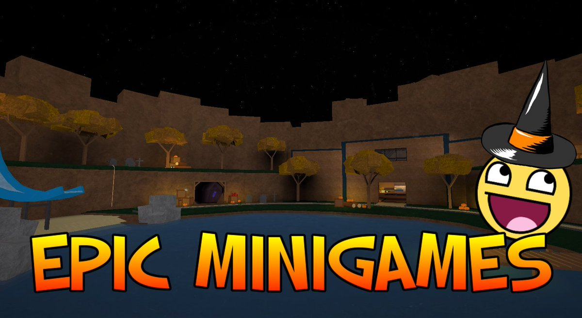 Typicaltype On Twitter The Epic Minigames Halloween Update Is