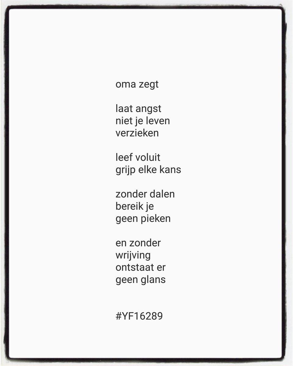 Yvonne Franssen Ar Twitter So Go For It Versje