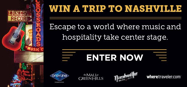 Nashville trip, anyone?  Enter now at https://t.co/eR9fJ23kD7 https://t.co/WWkDcADCz2