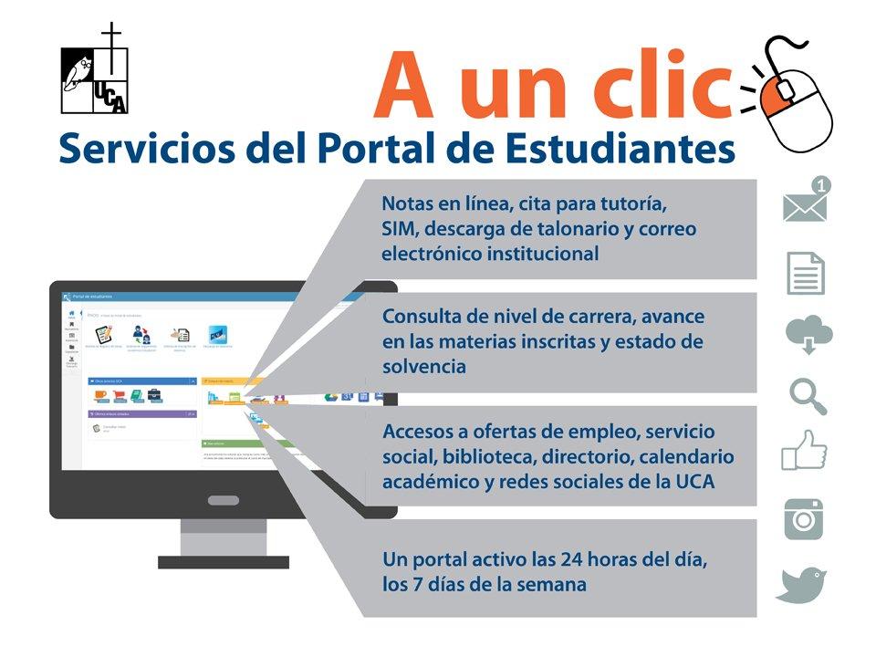 Uca Calendario Academico.Uca El Salvador On Twitter Para Acceder Al Portal De