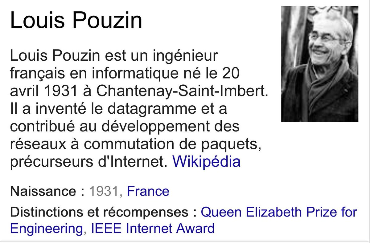 Say Bonjour to the Internet's Long-Lost French Uncle #LouisPouzin &gt;&gt;  http:// internethalloffame.org/blog/2013/01/0 7/say-bonjour-internet%E2%80%99s-long-lost-french-uncle &nbsp; …  cc: @OpenRoot1 #Cyclades #Datagramme<br>http://pic.twitter.com/ydmTG1Rp5q