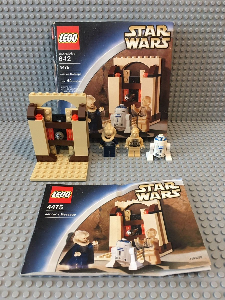 Ryan Walls On Twitter Lego Star Wars Jabbas Palace Jabbas