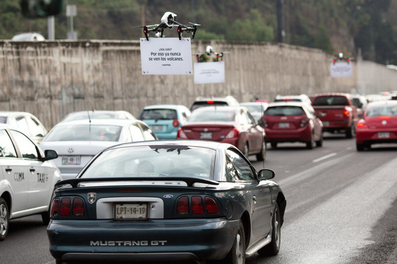 Just drones advertising uberPOOL while you are stuck in traffic https://t.co/ZRduNW6Jiz
