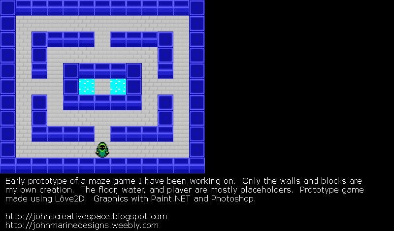 maze game concept