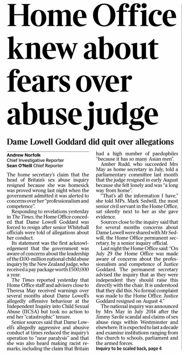there was a sense that an inquiry set up to oppose a culture of secrecy and cover up has become itself an exemplar of the sins it was supposed to expose
