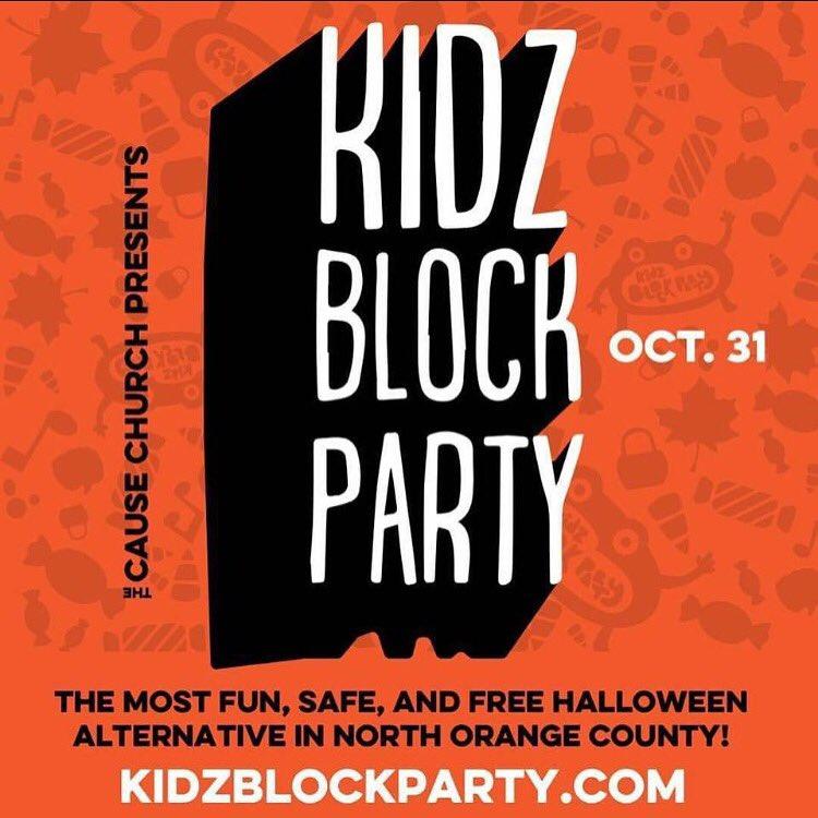 Brea Kid Block Party