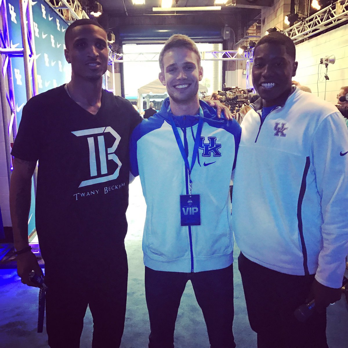 Tawny, Polson and Ravi, via @KentuckyMBB.