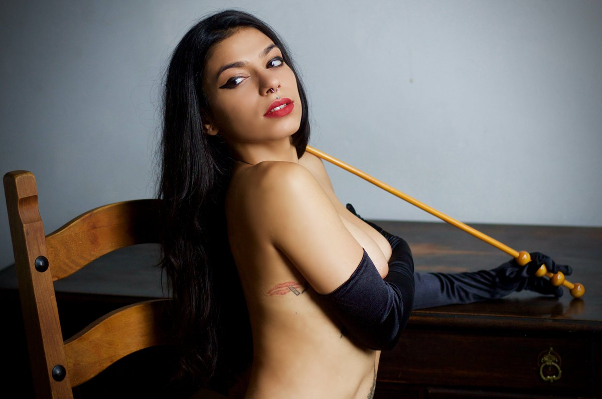 Hispanic dominatrix