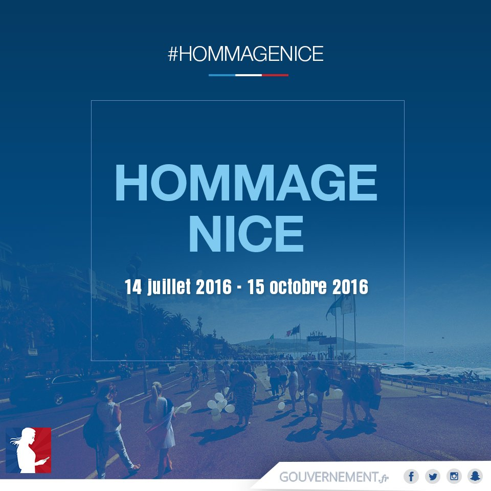 14 juillet 2016 hommage toutes les victimes de l attentat de nice hommagenice. Black Bedroom Furniture Sets. Home Design Ideas