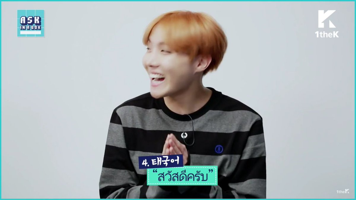 Daily Namjoon On Twitter Jhope Doing Greetings In 6