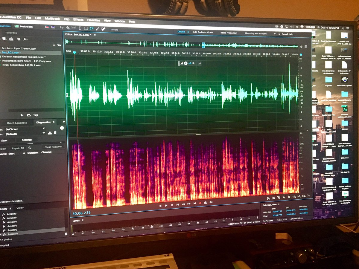 """Evan (EW$) Williams on Twitter: """"Cleaning up #audio since ..."""