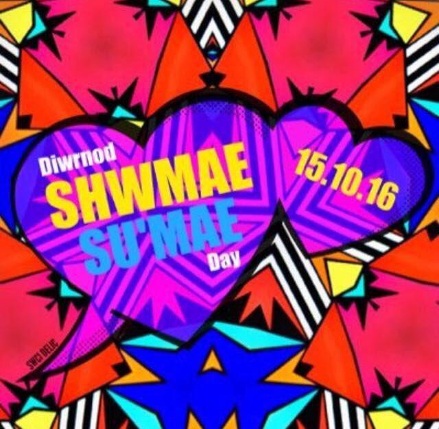 Diwrnod #ShwmaeSumae hapus i bawb. https://t.co/u9pOvTUl8H