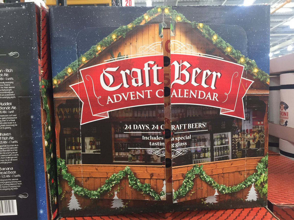 Joe smoe on twitter this is a great idea at costco for Craft beer advent calendar 2017