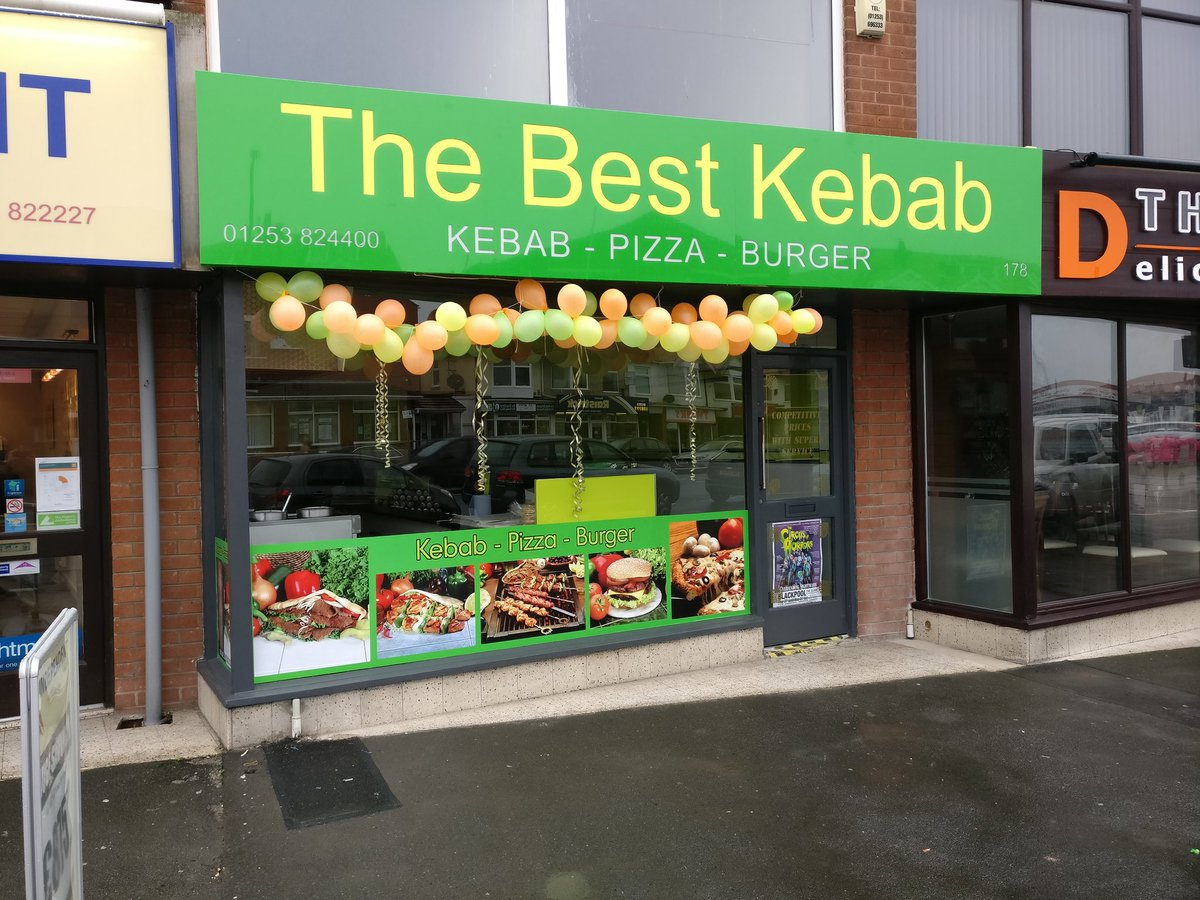 Cleveleys News On Twitter Best Kebab Have New Premises