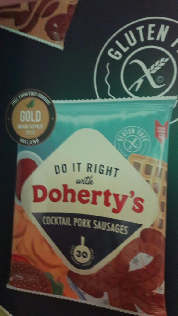 Found our friends from @DohertyMeats  - an #fffai #gold #winner, at the #FreeFromIreland Expo in Croke Park #GlutenFree https://t.co/zX1212Pk1P