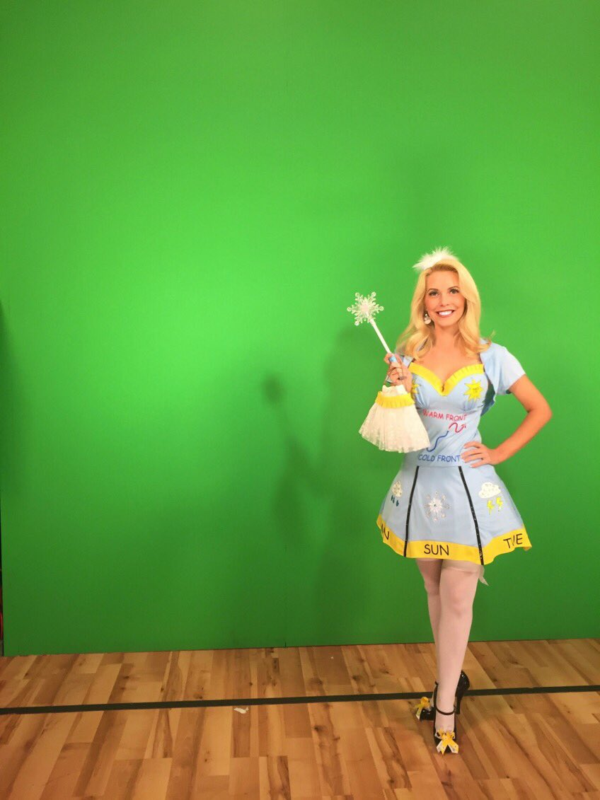 740 pm 29 oct 2016 - Meteorologist Halloween Costume