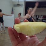 Apples during Nutcracker rehearsals. #RMMicroscopes #Apples4Ed