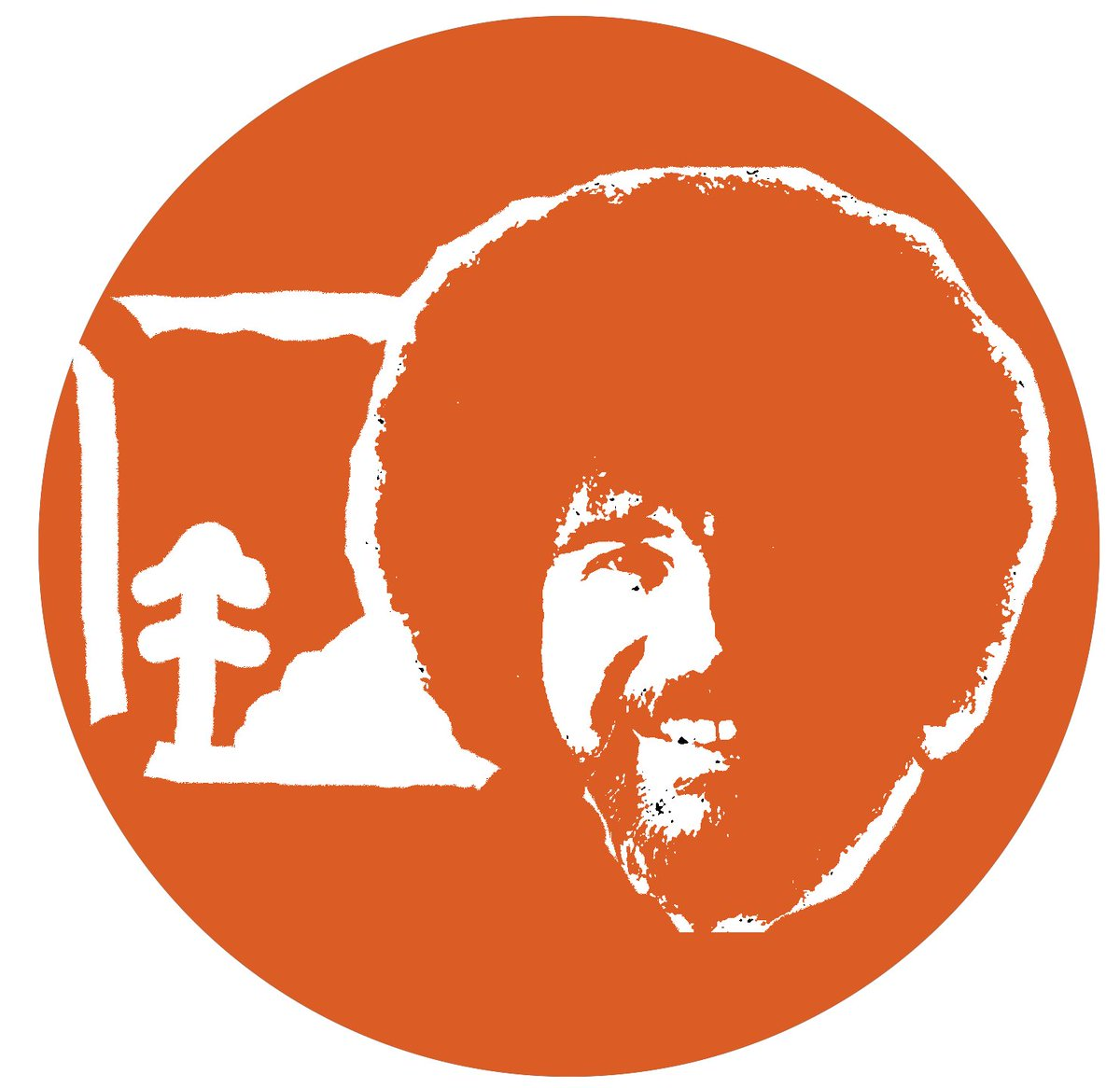 bob ross pumpkin template  Bob Ross Dowager Countess Mr Rogers : PUMPKIN STENCILS Bob ...